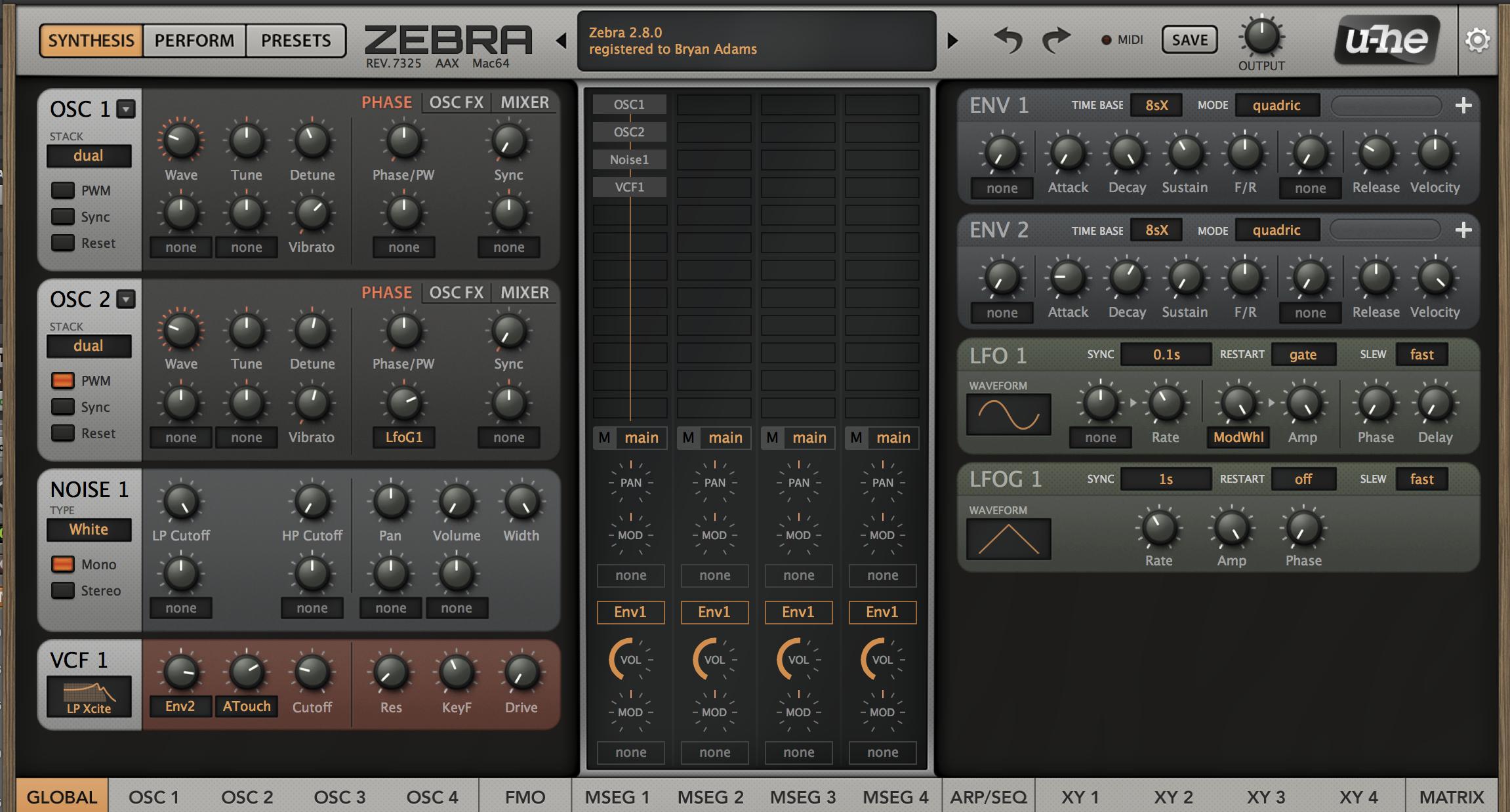 Review: U-he Zebra 2 - Everything Recording