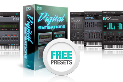 UVI Offers Free Presets for Digital Synsations - Everything