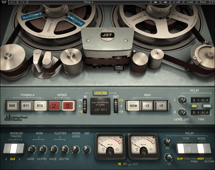 Waves J37 Tape Saturation - Everything Recording