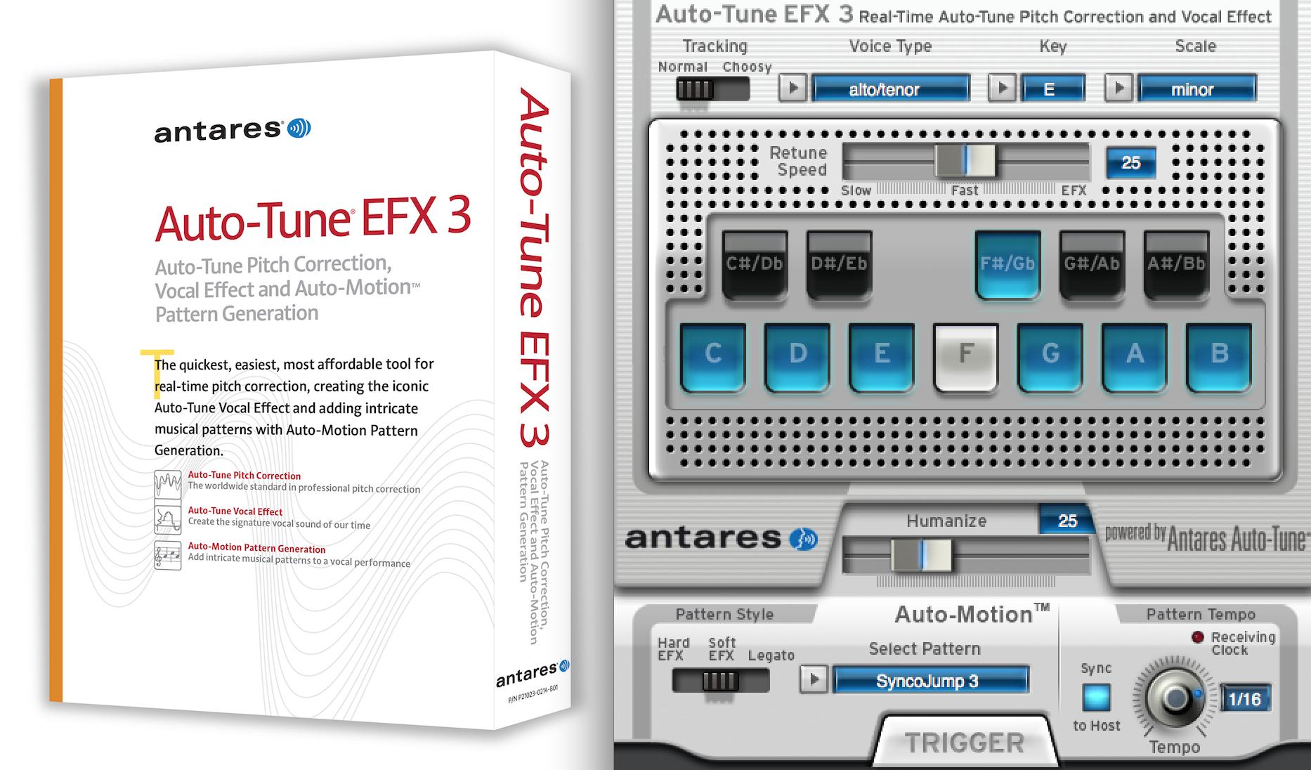 antares auto tune efx3 everything recording
