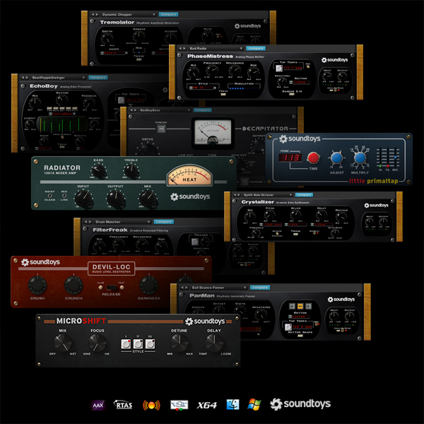 Soundtoys AAX-64 - Everything Recording