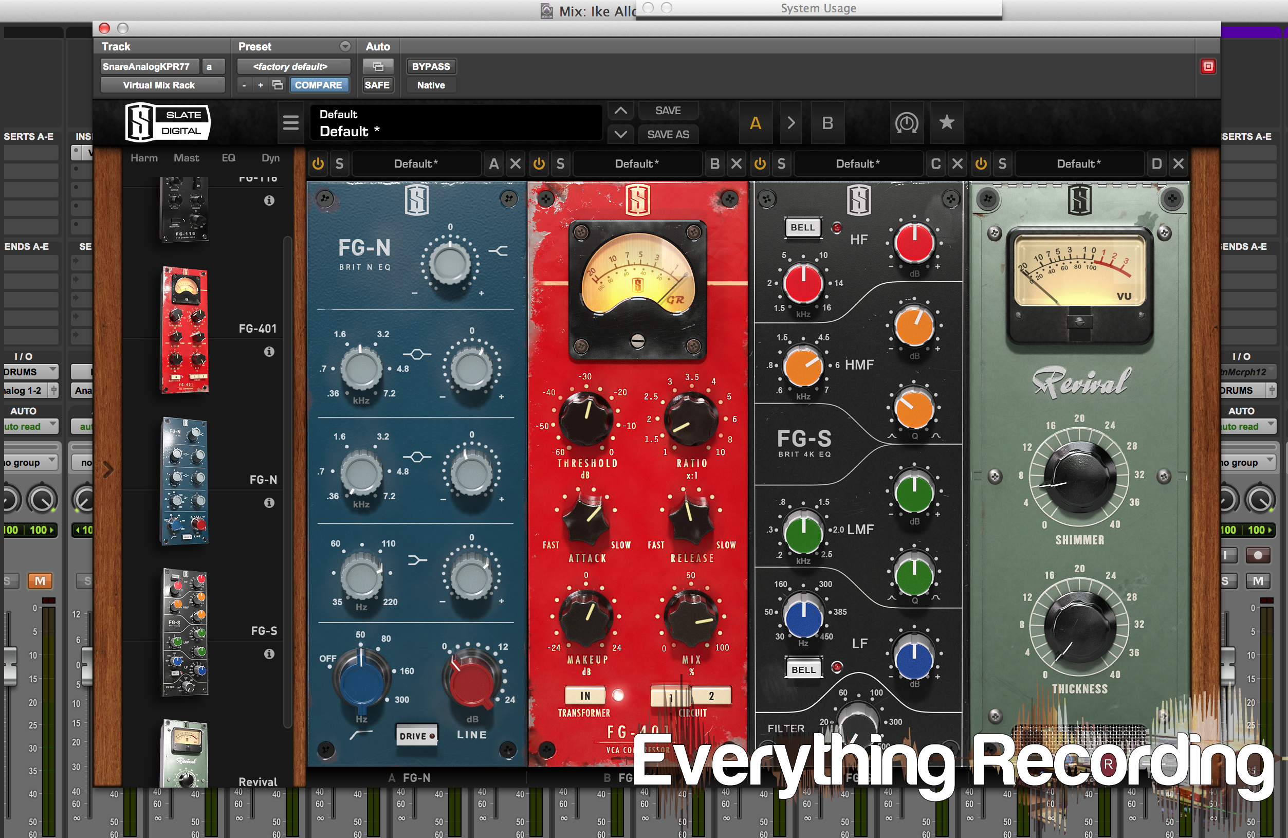 Review: Slate Digital Virtual Mix Rack - Everything Recording