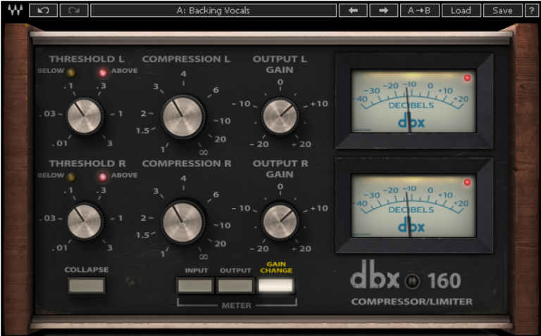 Waves dbx 160 Plugin