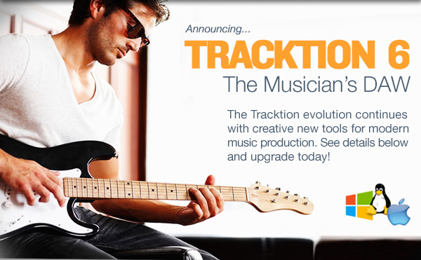 Tracktion T6 - Everything Recording