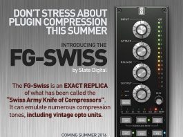 Slate Digital, FG- Swiss, Everything Recording