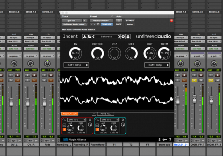 Plugin Alliance Offers Unfiltered Audio's Indent Free for A Limited Time