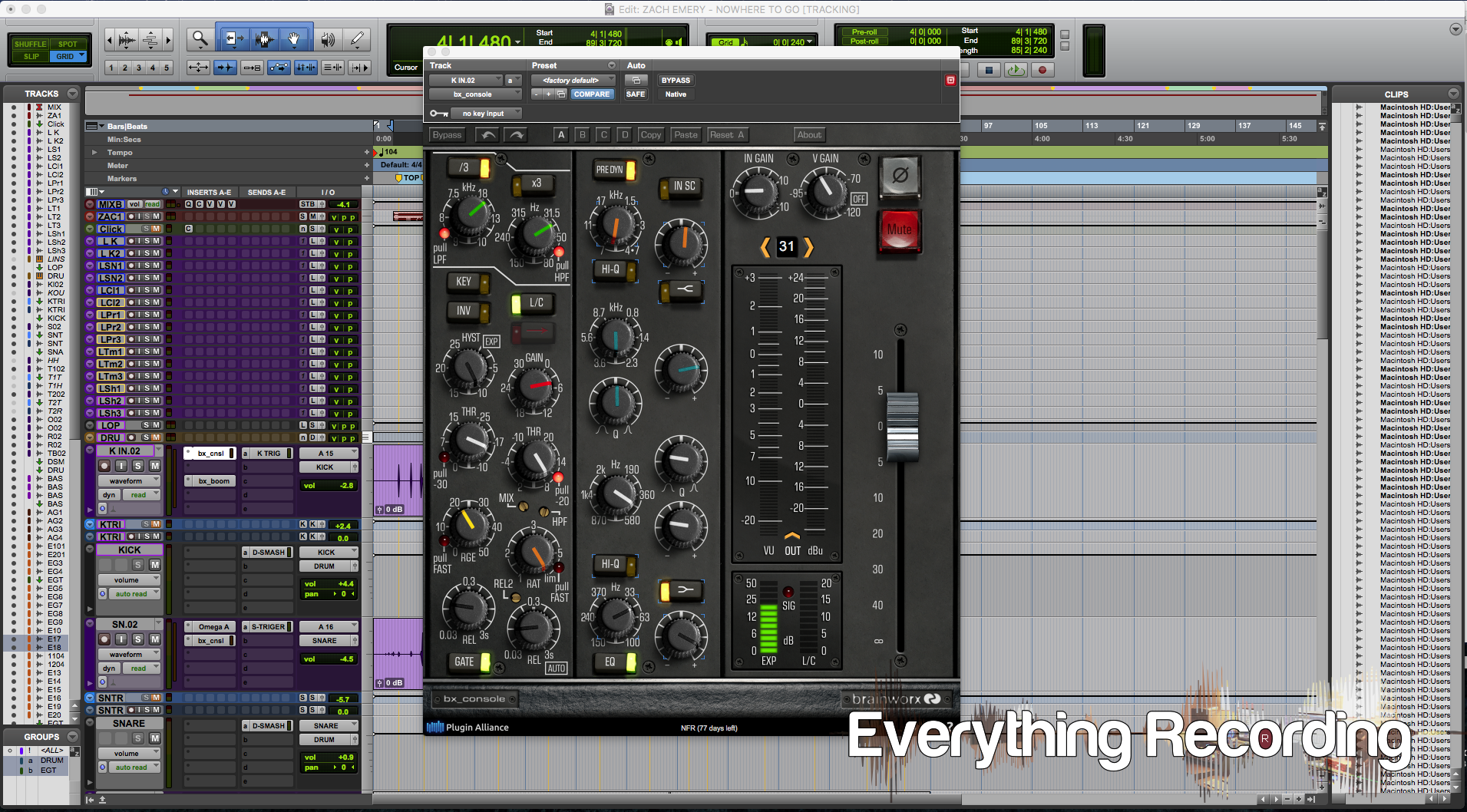 Review: Plugin Alliance bx_Console - Everything Recording