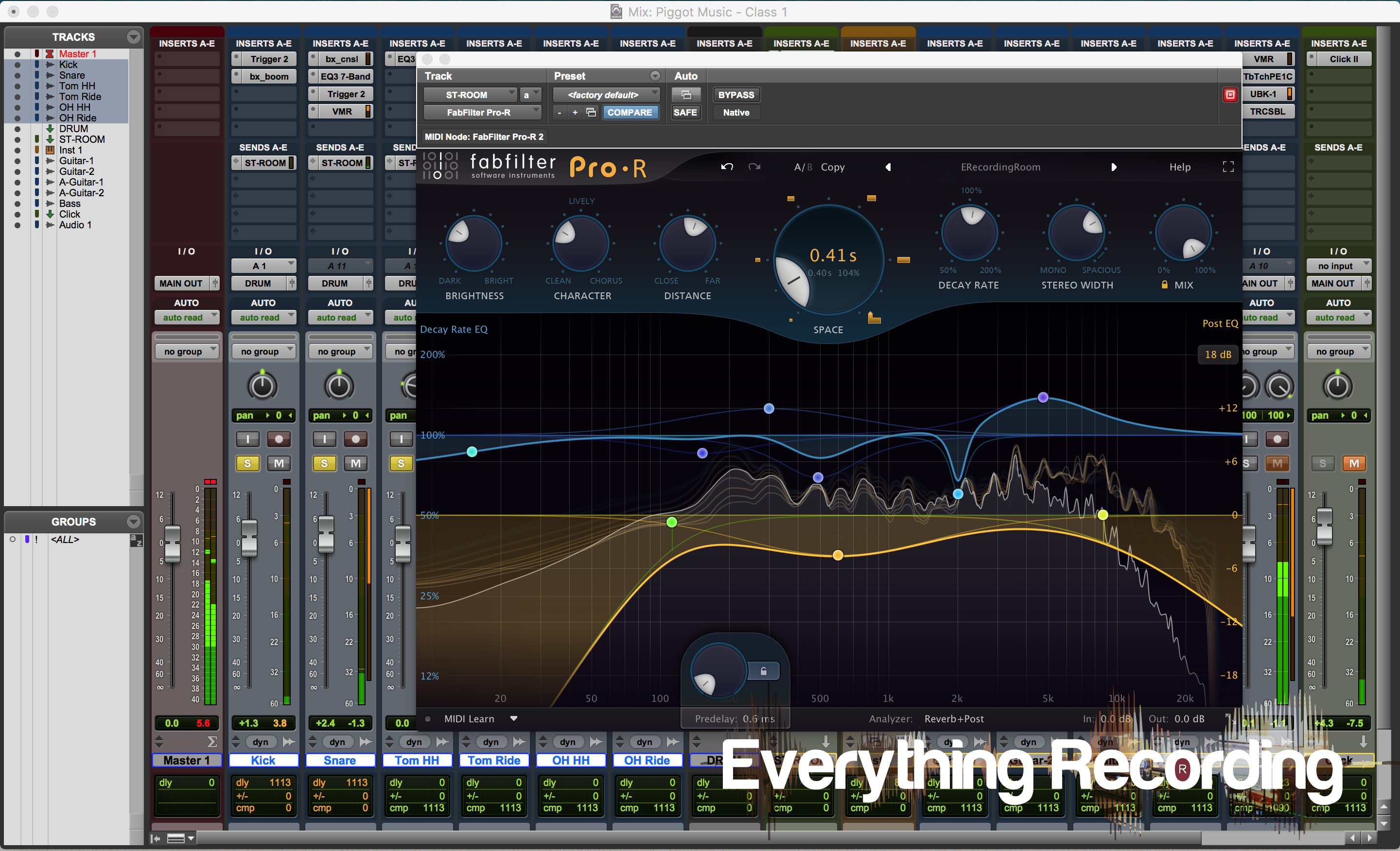 Review: FabFilter Pro-R Reverb Plugin - Everything Recording