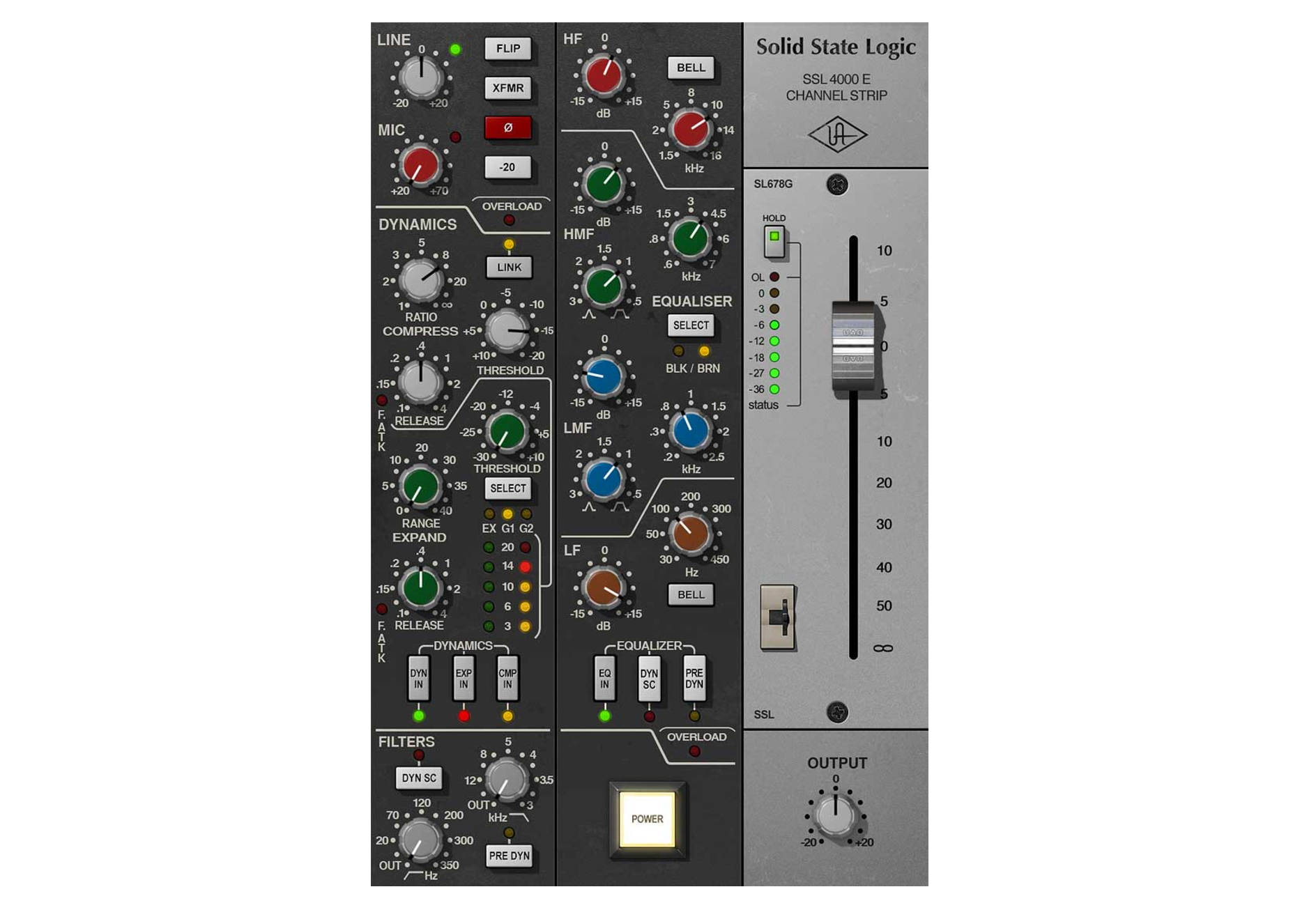 Universal Audio SSL 4000E Channel Strip - Everything Recording