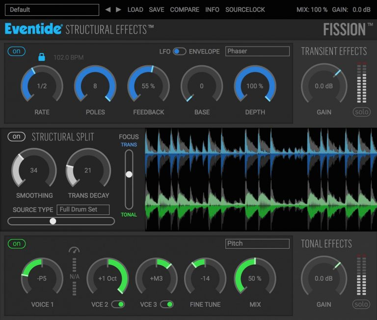 Eventide Fission Plugin Featuring STRUCTURAL EFFECTS
