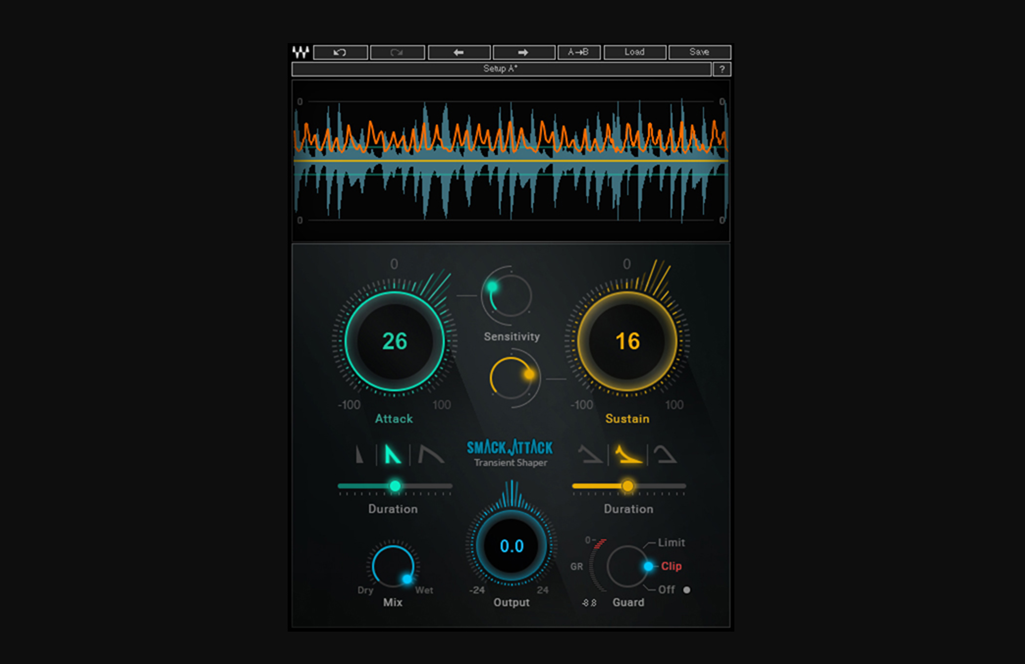 Waves Releases Smack Attack Transient Shaper Plugin