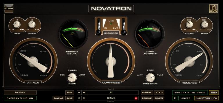 Kush Audio Releases Novatron Compressor