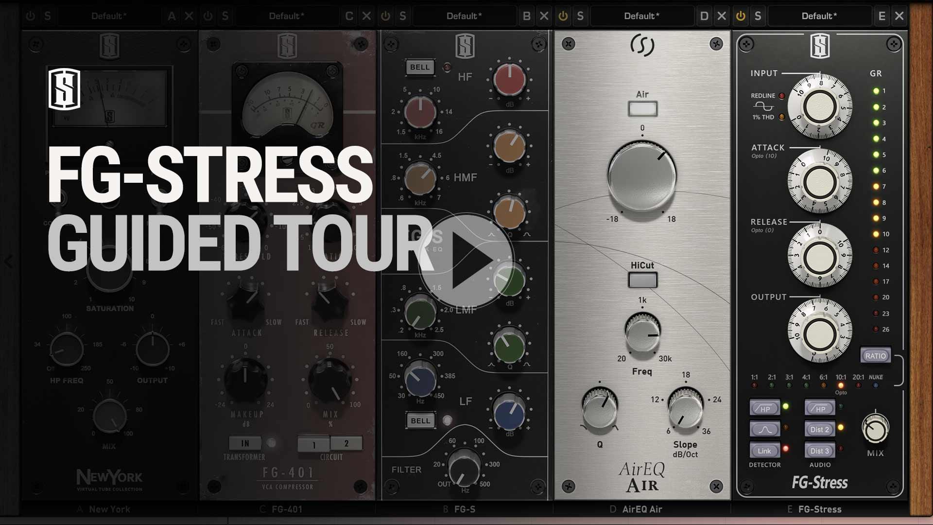 Slate Digital FG Stress Plugin - Everything Recording