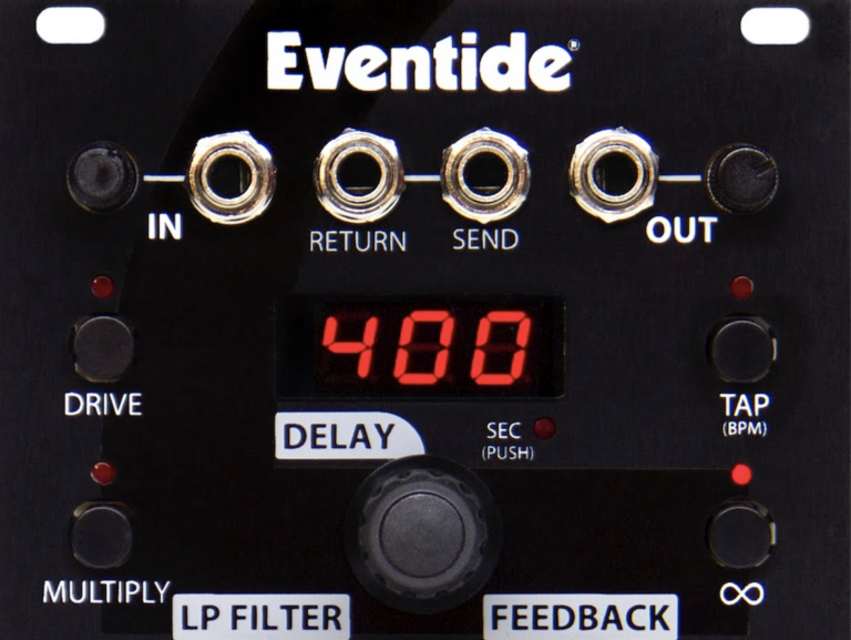 Eventide Debuts Eurorack World with EuroDDL