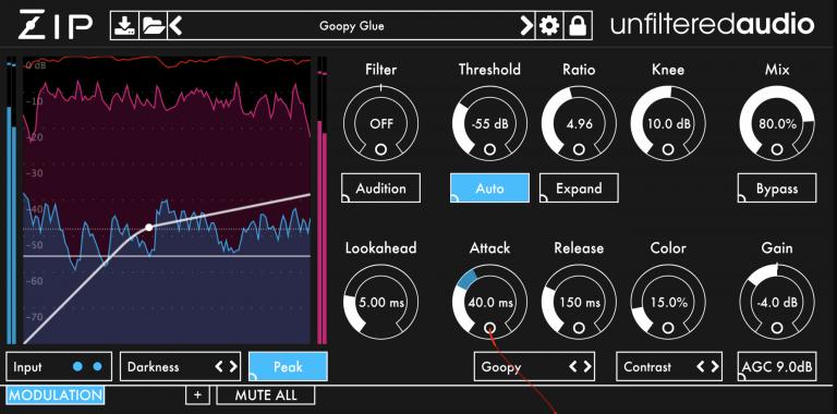 Plugin Alliance Unfiltered Audio's Zip