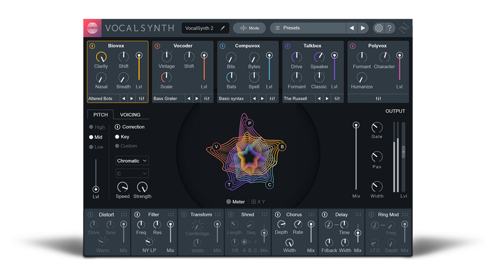 iZotope Creative Suite and Vocal Synth 2 Now Available