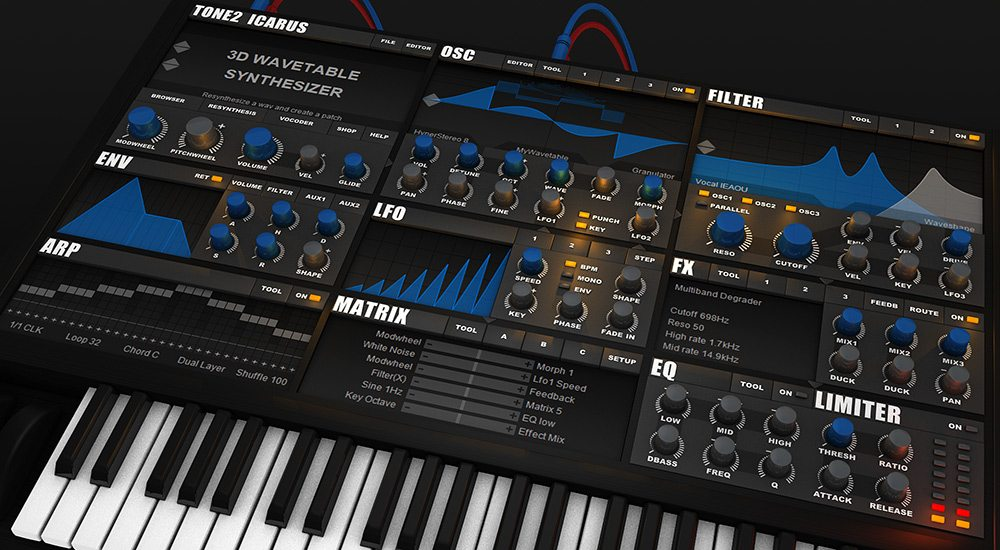 Tone2 Icarus Updates to V1 6 - Everything Recording