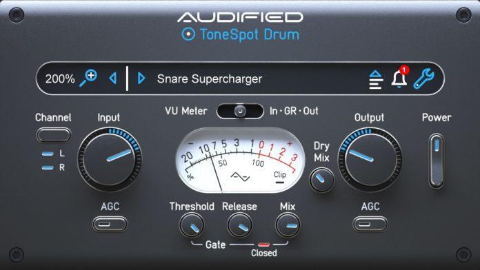 Audified ToneSpot Drum