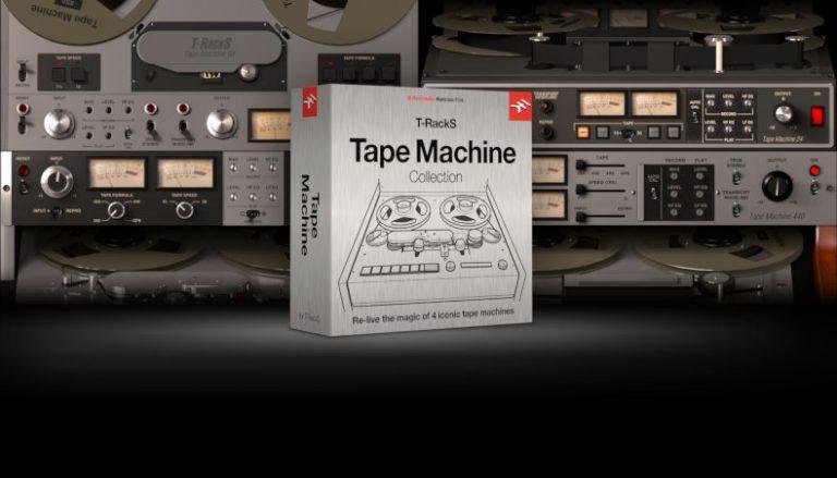 IK Multimedia – T-RackS Tape Machine Collection
