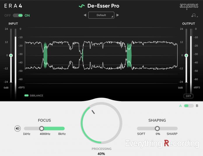 ERA4 De-Esser Pro