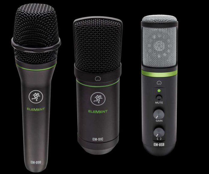 Mackie Element Mics