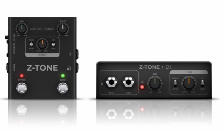 IK Multimedia Releases Z-Tone Buffer Boost and Z-Tone DI