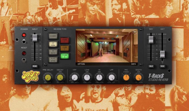 T-RackS Sunset Sound Studio Reverb