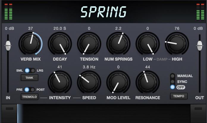 Eventide Spring Reverb
