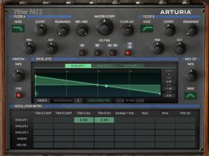 Arturia Filter M12