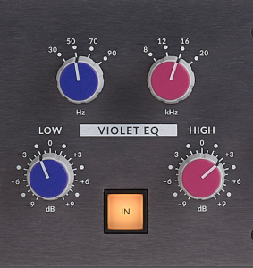 Solid State Logic Fusion - Violet EQ
