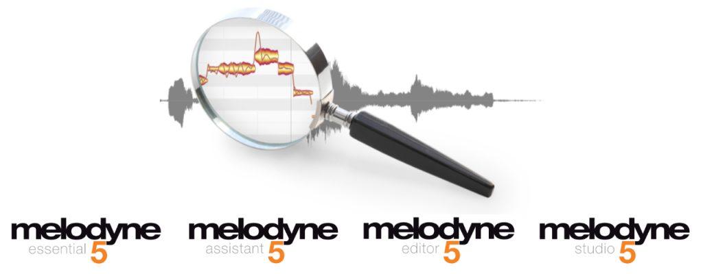 Celemony Melodyne 5 versions